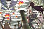 Homura Akemi vs Walpurgisnacht by Banzatou