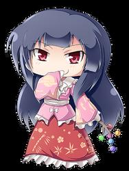 Kaguya Houraisan Chibi by Banzatou