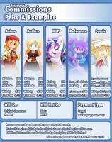 (CLOSED) Commissions - Pricing and Layout OUTDATED by Banzatou