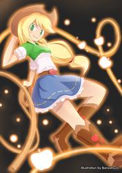 Applejack (E.G.) by Banzatou