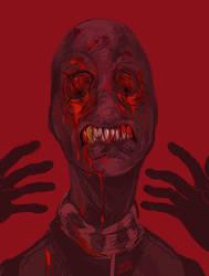 its just jack noir without eyeballs by SavedChicken