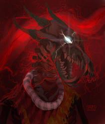 skeleton bec noir by SavedChicken