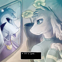 'It's You' --- Asriel by Cloudy-Quill