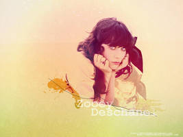 Wallpaper Zooey Deschanel by addictedsp8