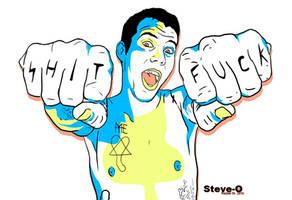 SHIT-FUCK: Steve O by addictedsp8