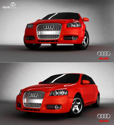 Audi A3 by mossawi