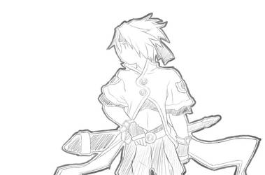 Cless cosplay as Luke by mayumiaerheart