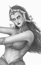 MTG: Liliana Vess sketch by Freezzelaj