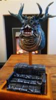 Asylum Demon - Dark Souls Sculpture (Finished) by makerforge