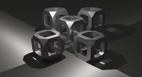 Netrick cubes by younesanimedrawing
