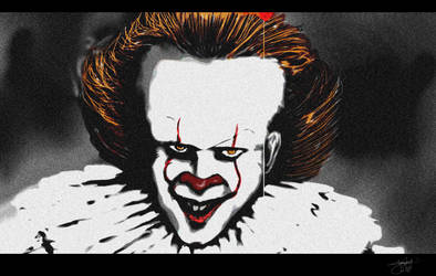 Pennywise the dancing clown by younesanimedrawing