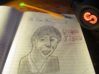Ringo Starr by Bloodtiger123