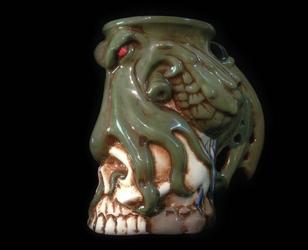 Cthulhu mug by kachaktano