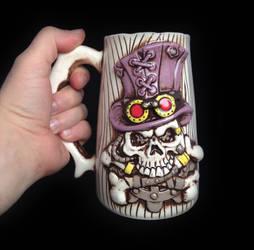 Steampunk mug by kachaktano