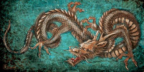 Dragon by kachaktano