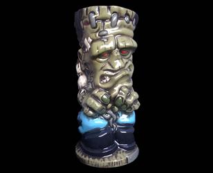 Frankenstein Tiki Mug by kachaktano