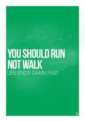Run Poster by joscc