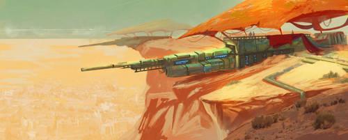 Long Range Defense by Colormate