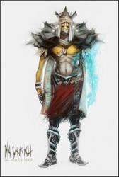 Warrior Priest Concept by Icecoldart