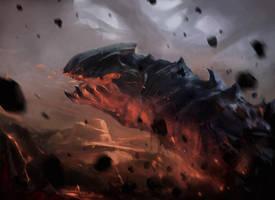 Volcanic Wurm by Icecoldart