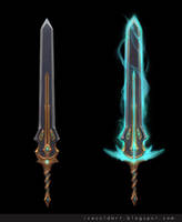Yithiel Sword by Icecoldart