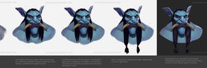 Warcraft Troll Process by Icecoldart