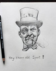 Old Sport by Icecoldart