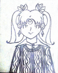 Fighter Moon Earth: Ikuko by puff222001