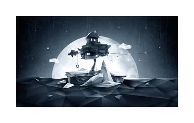 Moon Island by skam4