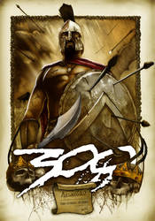300 - Leonidas - Color Version by skam4