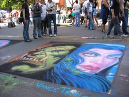 world of warcraft chalk by Littledidheknow