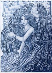 Lena: half Angel by Mellime