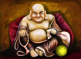 Buddha by SeamanArts-Artwork