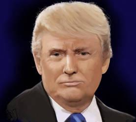 Trump by SeamanArts-Artwork
