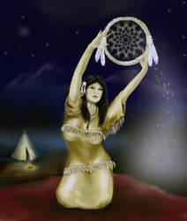 Dream Catcher By Seamanarts Artwork redone by SeamanArts-Artwork