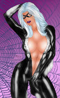 Black Cat by Fred Benes by winchester01