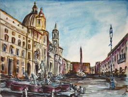 Roma view by LauraMSS