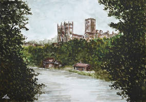 Durham view by LauraMSS