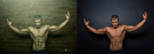 retouch male stock by andrzejsiejenski