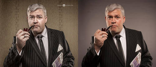 businessman by andrzejsiejenski