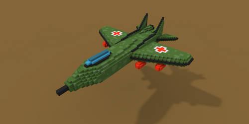 Medical Jet by rubengcdev