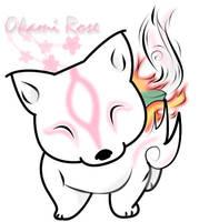 Okami Chibi by FeiticeiraRose