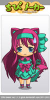 ChibiMaker oc 1 by catpower55