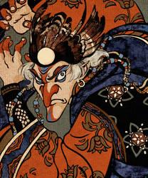 uncle Utagawa Kuniyoshi style by Zionka