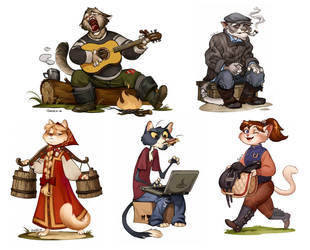 Cats for ArtDays by Zionka