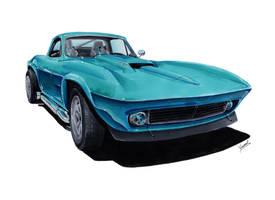 Chevrolet Corvette C2 by vsdesign69