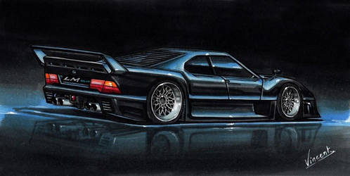 BMW 850 LM Road Legal by vsdesign69