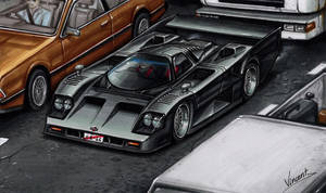 Nissan GTP ZX-Turbo Road Version by vsdesign69