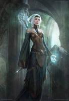 Elf Mage by ConceptArtOrg