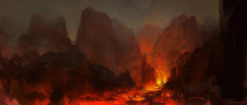 Fire by ConceptArtOrg